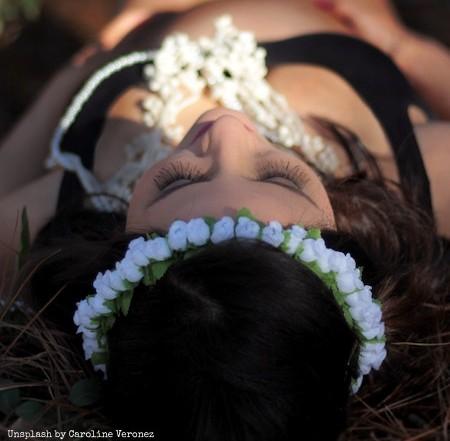 self worth, confidence, divine feminine, flowers